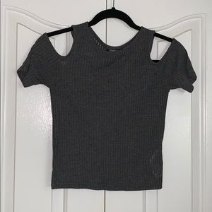 TopShop Gray Shirt